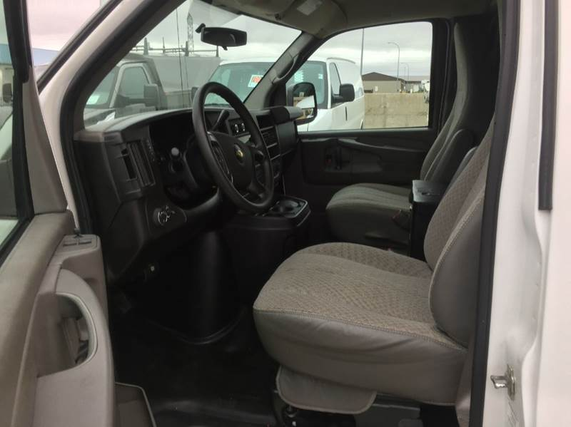 """2012 Chevy G1500 ALL WHEEL DRIVE  Cargo Van Off Lease! """"Soft Use  - Bismarck ND"""
