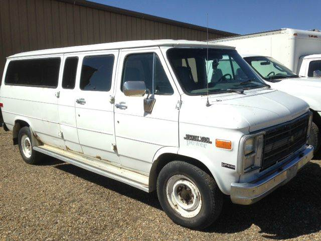 1991 EXTENDED Chev Express Van