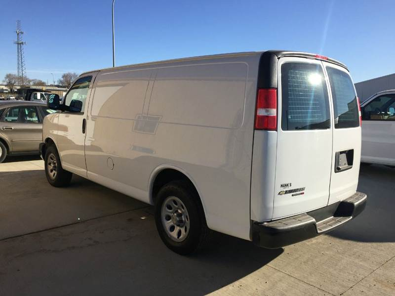 2014 Chevy ALL WHEEL DRIVE w Factory Warranty Cargo Van  - Bismarck ND