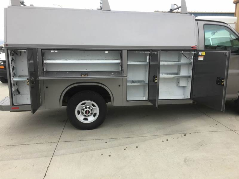 2012 GMC 1 Ton KUV Service Body Like New Condition!  LOW MILES  - Bismarck ND