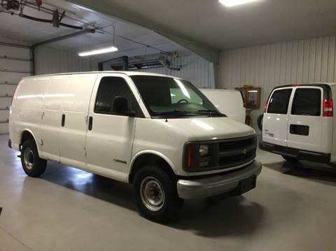 1998 Chevy 1 Ton Cargo Van in Excellent Condition!