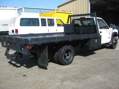 2000 Flatbed GMC 1 Ton 4x4 Dually Low Miles