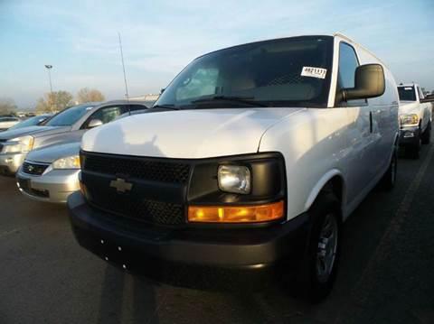 2013 Chevy ALL WHEEL DRIVE  Cargo Van.  Factory Warranty!