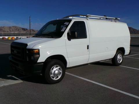 2011 Ford Cargo Van LIKE NEW CONDITION!  Contractors Pkg, Ladder Rack &