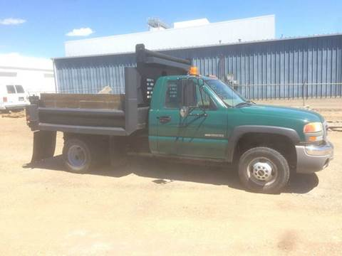 2004 GMC 4x4 Dump Truck w LOW LOW Miles for sale in Bismarck, ND