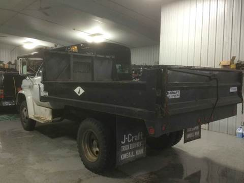 1980 Chevy C60 Dump Truck. w LOW LOW Miles & 12 ft Box