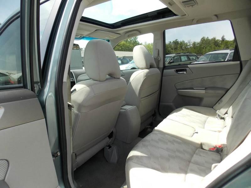 2010 Subaru Forester AWD 2.5X Premium 4dr Wagon 4A - Westbrook ME