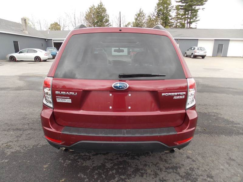 2010 Subaru Forester AWD 2.5X Premium 4dr Wagon 5M - Westbrook ME