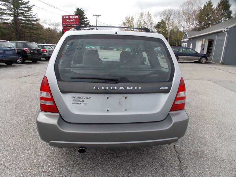 2004 Subaru Forester XS AWD 4dr Wagon - Westbrook ME