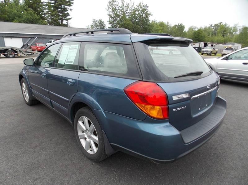 2006 Subaru Outback AWD 2.5i Limited 4dr Wagon (2.5L H4 4A) - Westbrook ME