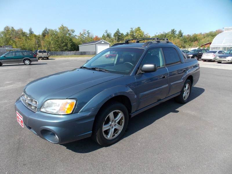 2006 subaru baja awd sport 4dr crew cab sb 25l h4 4a in contact sciox Image collections