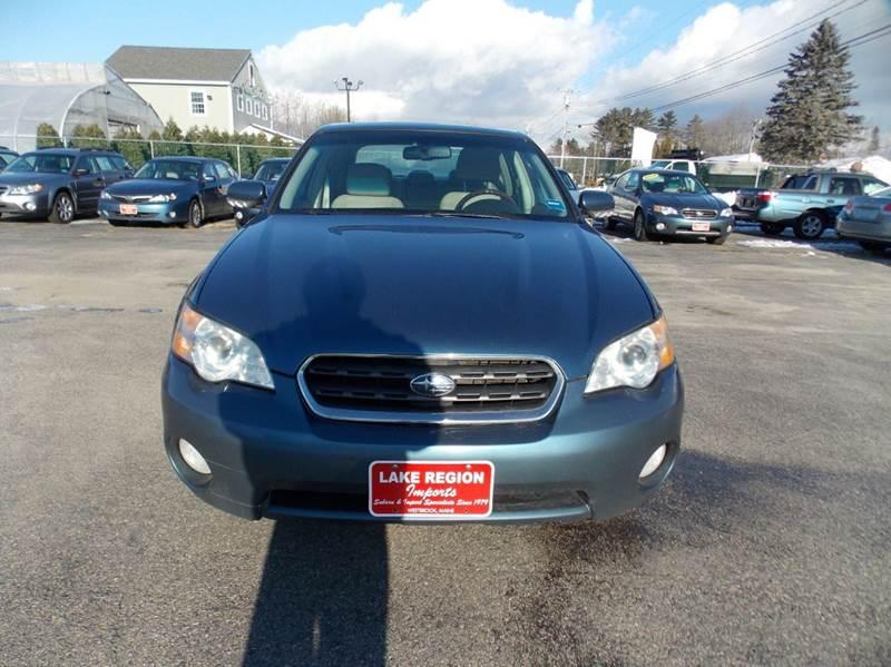 2007 Subaru Outback AWD 3.0 R L.L.Bean Edition 4dr Sedan w/Navi - Westbrook ME