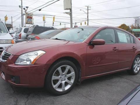 07 Nissan Maxima >> 2007 Nissan Maxima For Sale In Cranston Ri