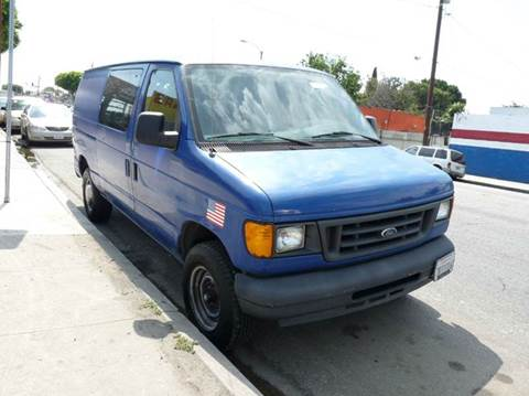 2005 Ford E-Series Cargo for sale in Los Angeles, CA