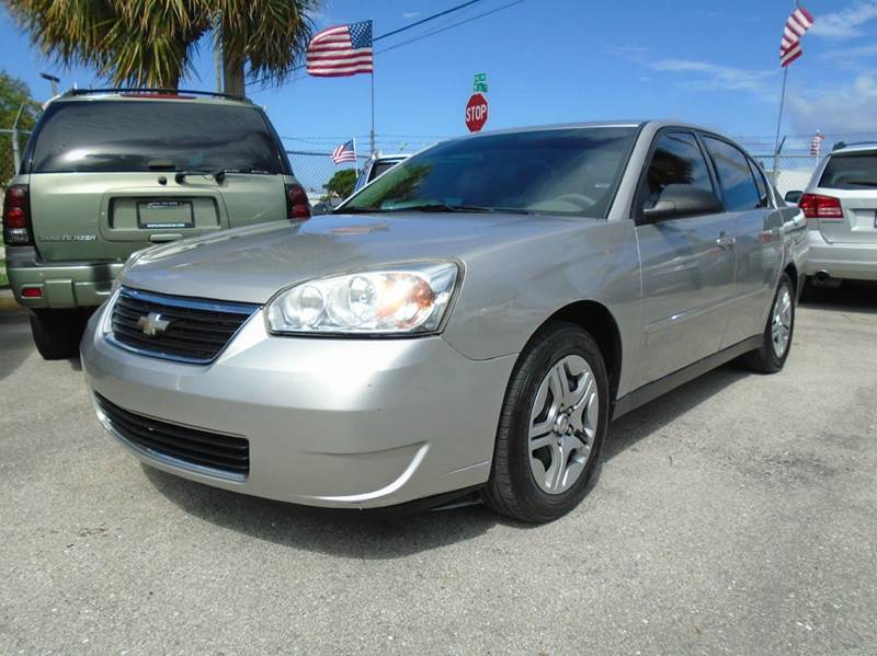 2007 chevrolet malibu ls fleet 4dr sedan v6 in pompano. Black Bedroom Furniture Sets. Home Design Ideas