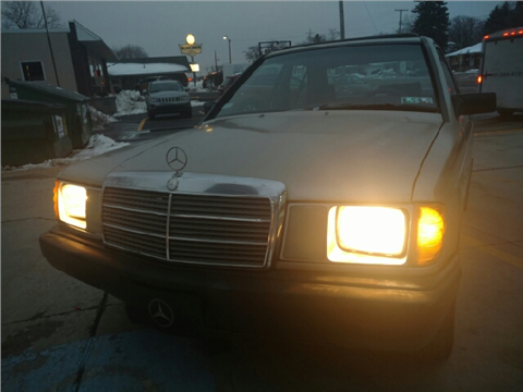 Mercedes benz 190 class for sale for Mercedes benz erie pa
