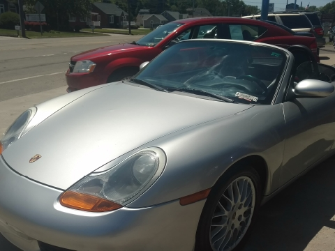 2001 Porsche Boxster for sale in Erie, PA