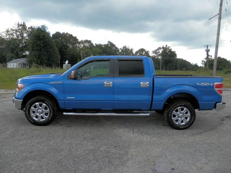 2013 ford f 150 xlt 4x4 4dr supercrew styleside 5 5 ft sb in milan tn beards auto sales. Black Bedroom Furniture Sets. Home Design Ideas
