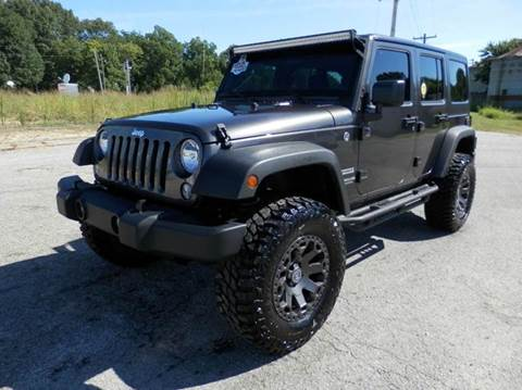 2017 Jeep Wrangler Unlimited for sale in Milan, TN