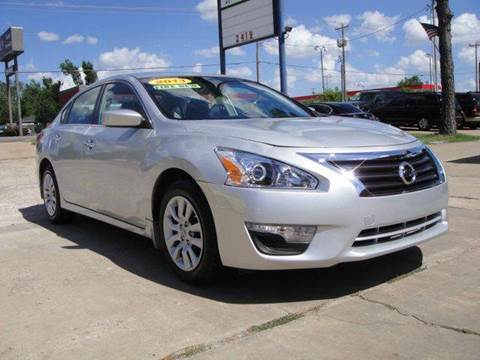 2013 Nissan Altima for sale in Oklahoma City, OK