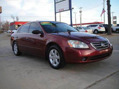 2002 Nissan Altima for sale in Oklahoma City, OK