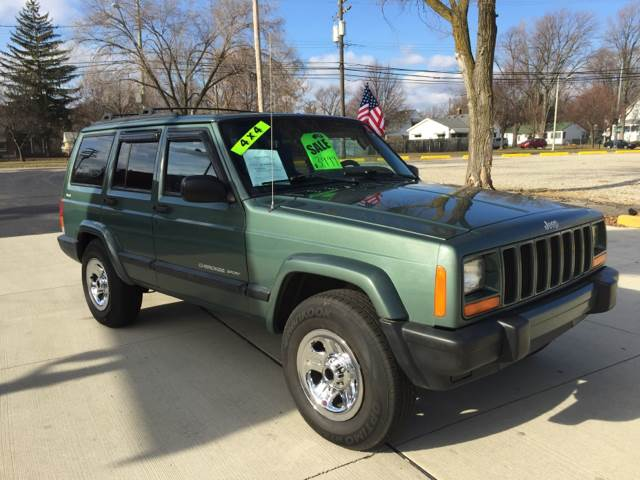2000 jeep cherokee sport 4dr 4wd suv in clinton township. Cars Review. Best American Auto & Cars Review