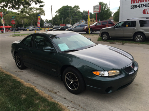 1998 Pontiac Grand Prix for sale in Clinton Township, MI