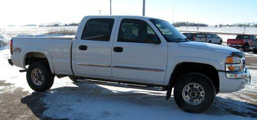 2003 gmc sierra 1500 hd sle crew cab short bed 4wd in marion sd rapp motors. Black Bedroom Furniture Sets. Home Design Ideas
