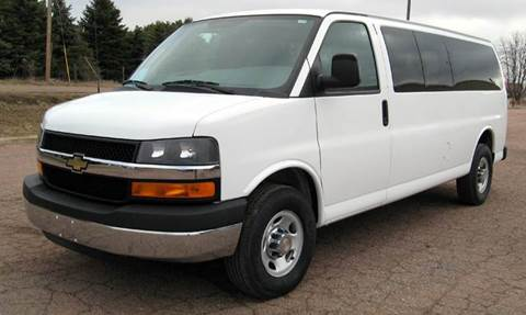 2012 Chevrolet Express Passenger for sale in Marion, SD