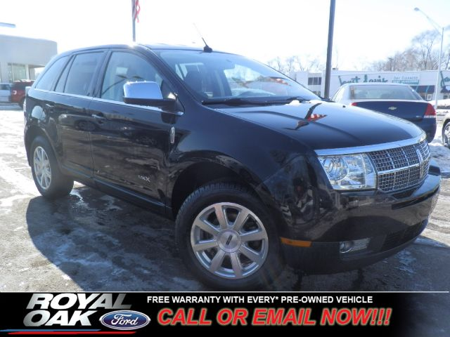 2008 LINCOLN MKX FWD black free royal shield warranty mkx equipped with heated and cooled leat