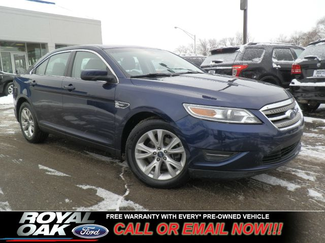 2011 FORD TAURUS SEL kona blue metallic free royal shield warranty loaded sel with heated leat