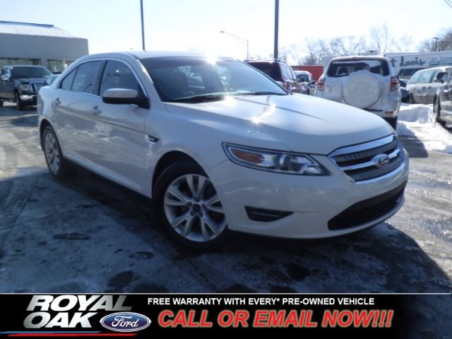2011 FORD TAURUS SEL whtie free royal shield warranty nicely equipped sel with cloth seat pow