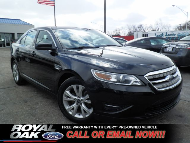 2011 FORD TAURUS SEL FWD black free royal shield warranty loaded sel with heated leather inter