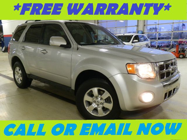 2012 FORD ESCAPE LIMITED FWD ingot silver metallic free royal shield warranty loaded limited