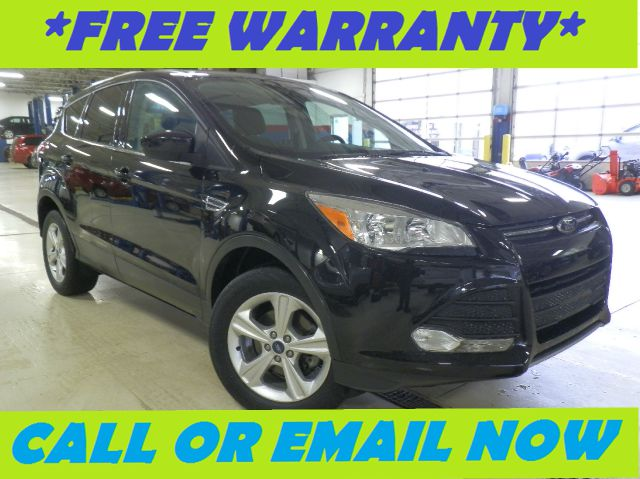 2013 FORD ESCAPE SE FWD black remaining factory warranty nicely equipped with cloth seats syn