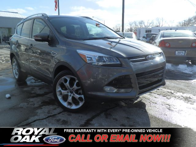 2013 FORD ESCAPE TITANIUM sterling gray metallic remaining factory warranty loaded titanium eq