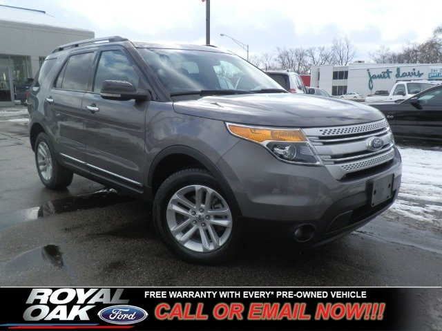 2011 FORD EXPLORER XLT 4WD sterling gray metallic free royal shield warranty xlt equipped with