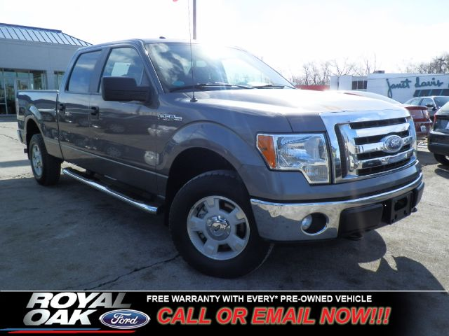 2011 FORD F150 XLT SUPERCREW 55-FT BED 4WD sterling gray metallic free royal shield warranty