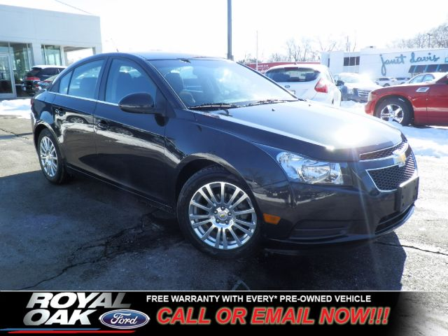 2011 CHEVROLET CRUZE ECO black granite metallic free royal shield warranty nicely equipped eco