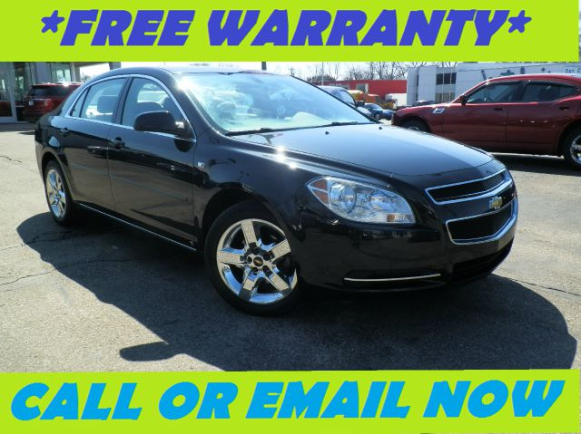 2008 CHEVROLET MALIBU LT1 black granite metallic free royal shield warranty lt1 equipped with