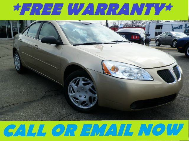 2007 PONTIAC G6 BASE gold free royal shield warranty nicely equipped g6 with remote start clo