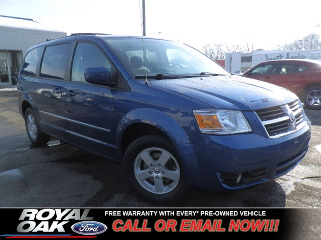 2010 DODGE GRAND CARAVAN SXT blue free royal shield warranty sxt equipped with stow n go pow