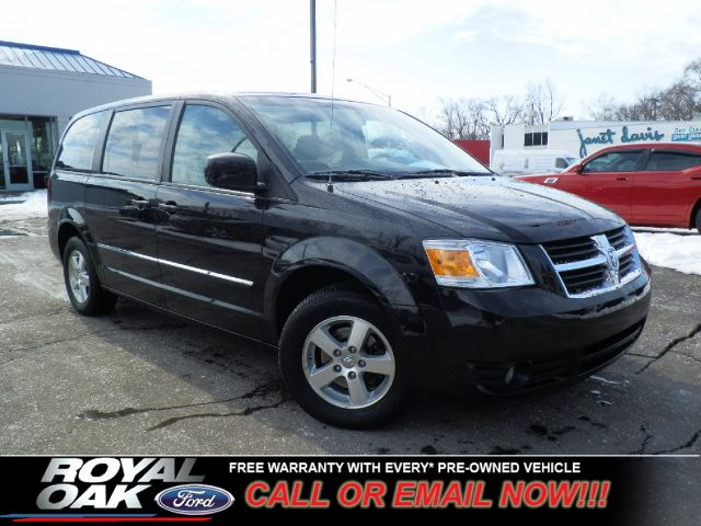 2008 DODGE GRAND CARAVAN SXT black free royal shield warranty nicely equipped sxt with cloth i
