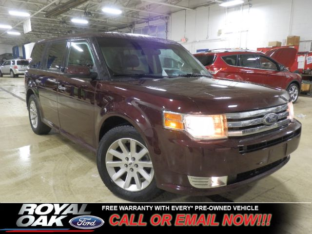2011 FORD FLEX SEL FWD red ford certified warranty loaded limited with heated leather interior