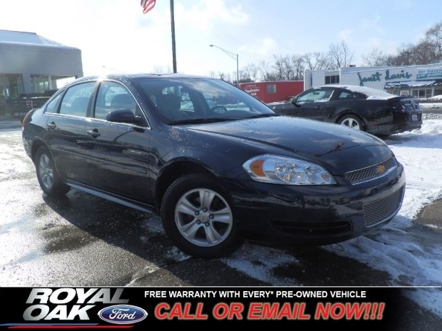 2012 CHEVROLET IMPALA LS imperial blue metallic free royal shield warranty ls equipped with on