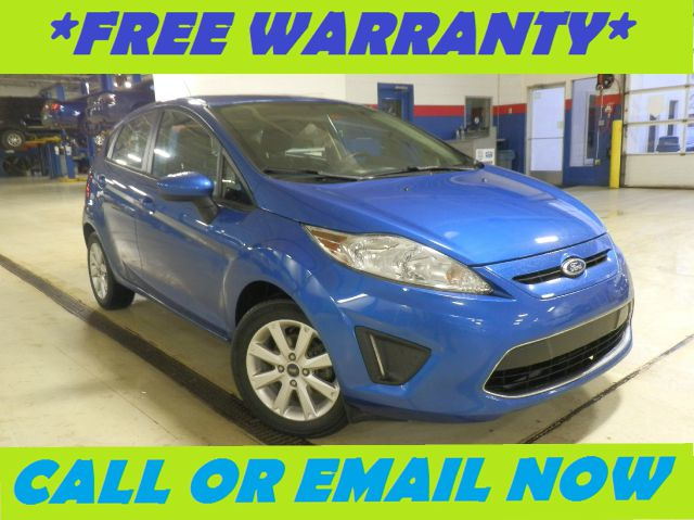 2011 FORD FIESTA SE HATCHBACK blue flame metallic free royal shield warranty nicely equipped s