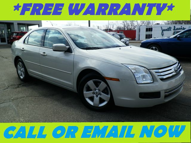 2008 FORD FUSION SE smokestone free royal shield warranty se equipped with cloth seats cd pla