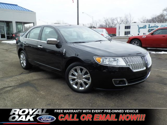 2010 LINCOLN MKZ FWD black remaining factory warranty loaded mkz with sunroof sync aux input