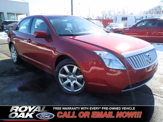 2010 MERCURY MILAN V6 PREMIER red ford certified pre-owned warranty loaded milan premier with