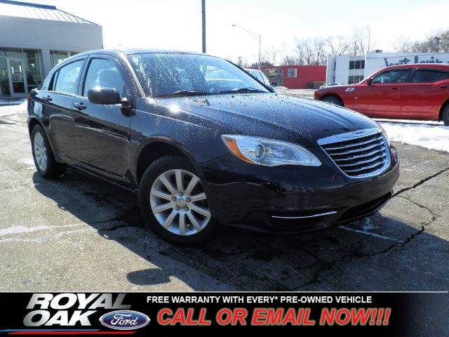 2011 CHRYSLER 200 TOURING blue free royal shield warranty nicely equipped touring with low mil